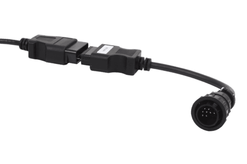 JDC525A Claas, Renault 14 pins diagnosis cable_01