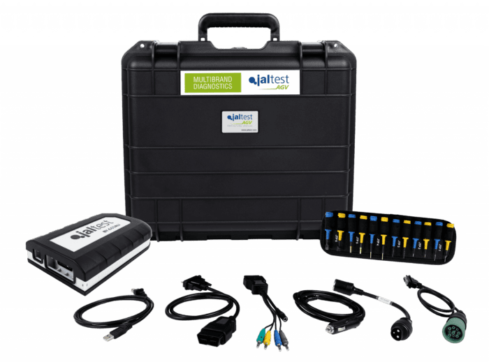 Jaltest Agricultural Farm Equipment Software and Adapter Kit TRI-AG-SWA