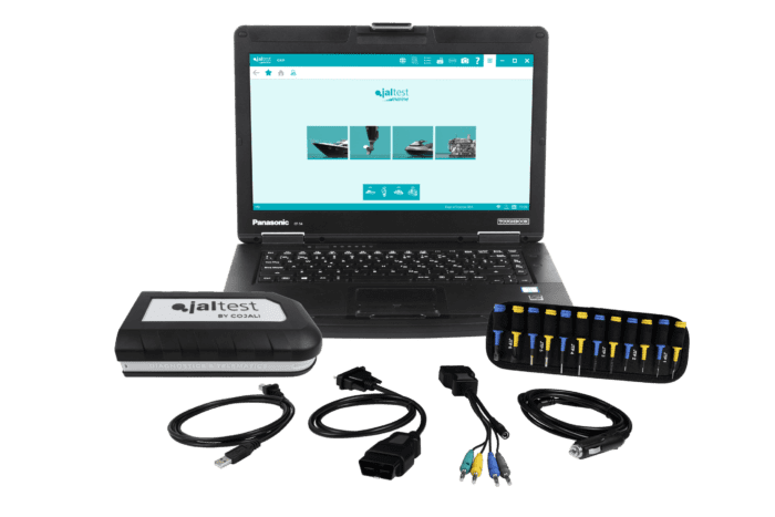 Jaltest Marine Full Diagnostic Kit TRI-MB-FKIT